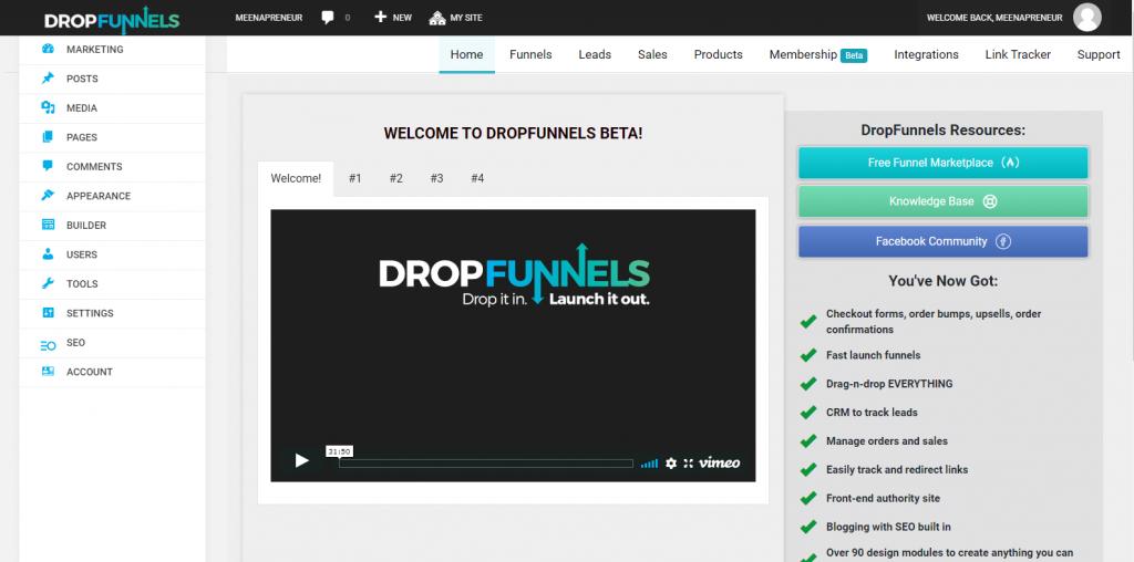 dropfunnels-review-featuress